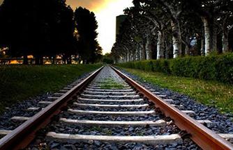 砼枕轨道小火车工程