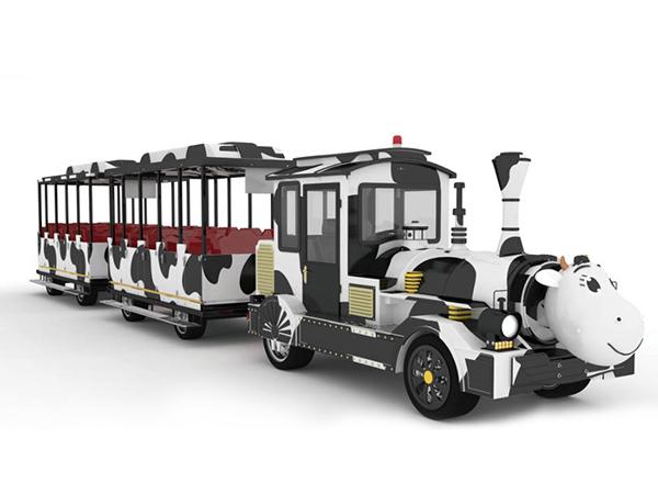 CHC-20型 奶牛定制款无轨观光小火车