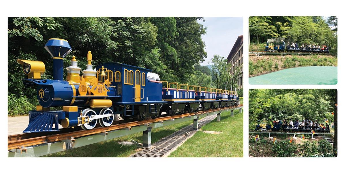 CHC-跨骑式网红轨道观光小火车