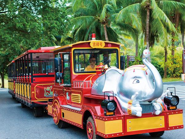 CHC-30型 吉祥号大象定制款无轨观光小火车