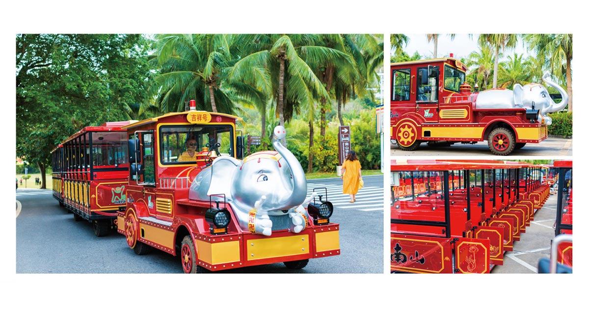 CHC-30型-吉祥号大象定制款无轨观光小火车