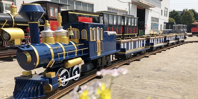 轨道观光火车与有轨小火车分别适合哪些游乐场