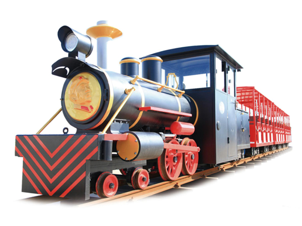 CHC-轨道 24人磨砂黑观光小火车
