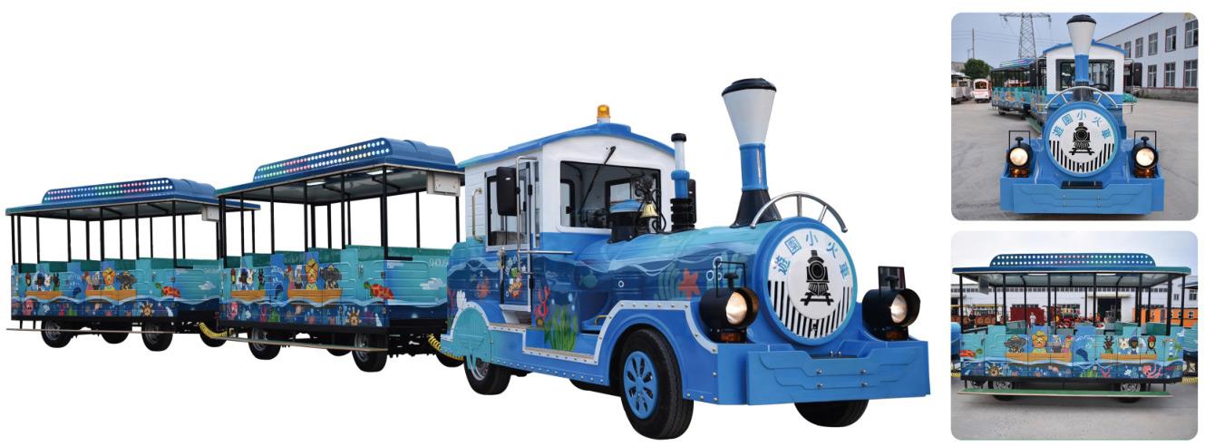 CHC-20型-彩绘款无轨观光小火车